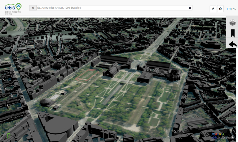 New for urbisonline urbis adm 3d on line cirb cibg bric the functionalities sciox Choice Image