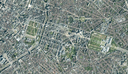 Blurring of orthophoto maps